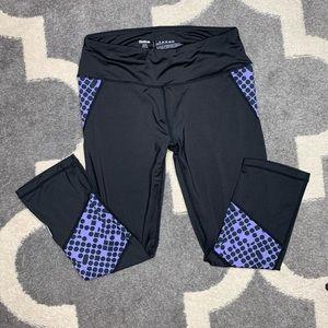 Small Reebok cropped yoga pants